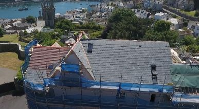 Stunning aerial footage of our Cornish development
